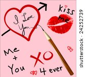 Vector Love Doodles