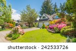 luxury house in vancouver ... | Shutterstock . vector #242533726