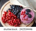 yogurt | Shutterstock . vector #242534446