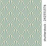 seamless pattern of blue art... | Shutterstock .eps vector #242551576