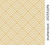 seamless geometric pattern. art ... | Shutterstock .eps vector #242551696