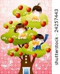 starting school | Shutterstock .eps vector #24257443