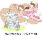 starting school | Shutterstock .eps vector #24257458