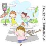 starting school | Shutterstock .eps vector #24257467