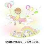 starting school | Shutterstock .eps vector #24258346