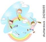 starting school | Shutterstock .eps vector #24258355