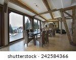 hotel interior   Shutterstock . vector #242584366
