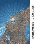vector illustration of... | Shutterstock .eps vector #24258655