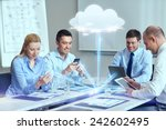 Business  People  Cloud...
