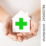 care  help  charity and people... | Shutterstock . vector #242602786
