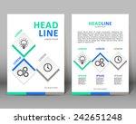 vector background template.... | Shutterstock .eps vector #242651248