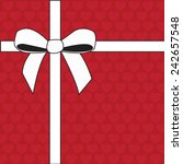 ribbon vector | Shutterstock .eps vector #242657548