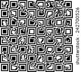 geometric seamless pattern.   | Shutterstock . vector #242700526