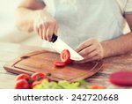 cooking and home concept  ... | Shutterstock . vector #242720668