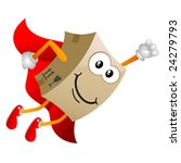 Cardboard Cartoon Character...