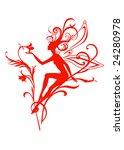 vector illustration silhouette... | Shutterstock .eps vector #24280978