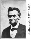 Постер, плакат: Abraham Lincoln in one