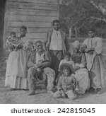 African American Slave Family...