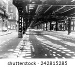new york city's west side... | Shutterstock . vector #242815285
