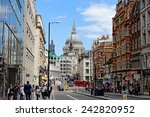 london  uk   july 1  2014 ... | Shutterstock . vector #242820952