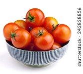 bowl full of tomato vegetables... | Shutterstock . vector #242838856
