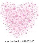 vector valentine background...   Shutterstock .eps vector #24289246