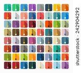 flat design  shovel | Shutterstock . vector #242904292