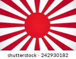 japanese sun | Shutterstock .eps vector #242930182