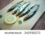 Small photo of Bloater - type of whole cold-smoked herring.particularly associated with Great Yarmouth, England