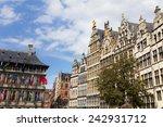 market in antwerp | Shutterstock . vector #242931712