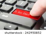 je suis charlie online... | Shutterstock . vector #242950852