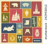 russian icons | Shutterstock .eps vector #242953012