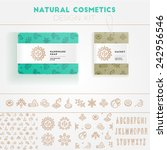 Natural Cosmetics Design Kit...