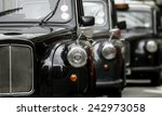 Three London Vintage Cabs...