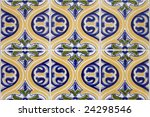detail pattern of portuguese... | Shutterstock . vector #24298546