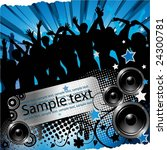 vector illustration for party | Shutterstock .eps vector #24300781