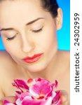 portrait of beautiful woman... | Shutterstock . vector #24302959