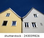 two houses                  ... | Shutterstock . vector #243039826