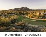 overview of scottsdale arizona... | Shutterstock . vector #243050266