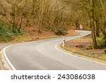 Image Of A Winding Road Through ...