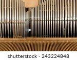 Detail Organ Pipe Tube
