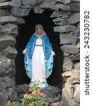 Small photo of KOLKATA, INDIA - JANUARY 26: Our Lady of Lourdes, Prem Dan, one of the houses established by Mother Teresa and run by the Missionaries of Charity in Kolkata, India on January 26, 2009.