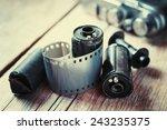 Old Photo Film Rolls  Cassette...