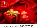 valentine's day. valentine red... | Shutterstock . vector #243237055