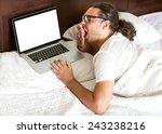 Freelancer Man With Laptop...