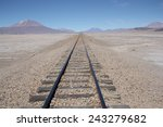 Railroad To Nowhere In A Stone...