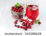 Fresh Cranberry Juice. Small...