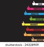 vector version of happy thumbs...   Shutterstock .eps vector #24328909