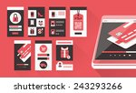 user interface shopping set for ...