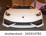 Постер, плакат: Lamborghini Huracan at The
